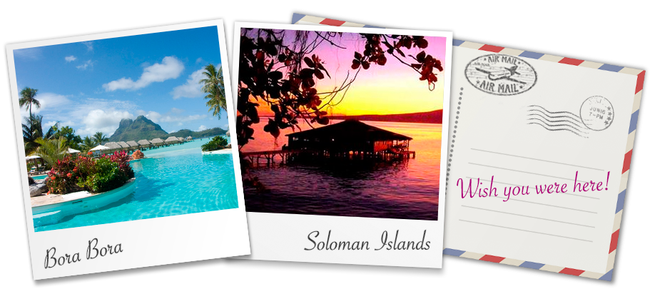Stay in stunning stilt huts just a few feet above the crystal clear waters of Bora Bora or the Soloman Islands